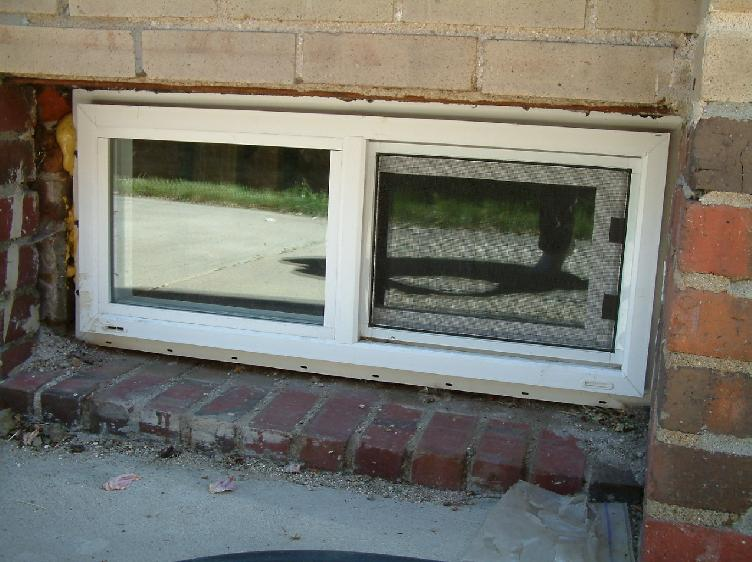Window replacement basement window replacement options for Basement window replacement